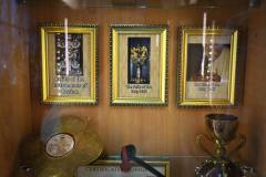 Relics belonging to Our Lord Jesus Christ.