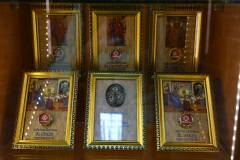 Relics of the disciples of Our Lord.