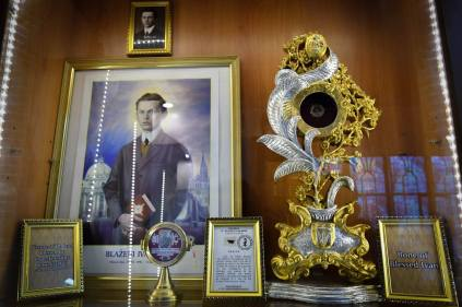 The Sacred Relics of Blessed Ivan Merz.