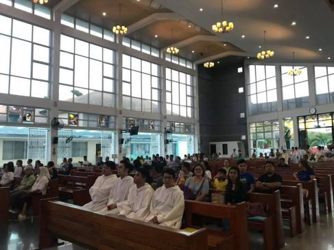 Solemnity of Blessed Ivan Merz at St. Gabriel of Our Lady of Sorrows Parish presided by Rev. Fr. Rey Hector Paglinawan, Youth Minister of the Diocese of Cubao. (May 10, 2018)