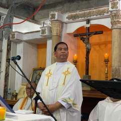 FIESTA NI IVAN MASS with Bishop Nolly Buco, Auxiliary Bishop of Antipolo.